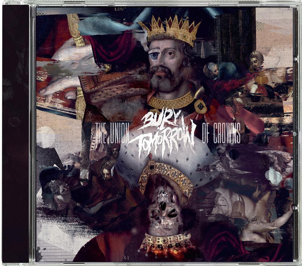 bury tomorrow the union of crowns nuclear blast usa store. Black Bedroom Furniture Sets. Home Design Ideas