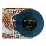 "TESTAMENT - Native Blood 7"" (Aqua Blue Splatter)"