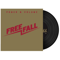 FREE FALL - Power & Volume BLACK VINYL (Import)