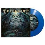 TESTAMENT - Animal Magnetism / Powerslave BLUE VINYL (Import)