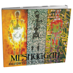 MESHUGGAH - Destroy Erase Improve (Limited Edition Digi)
