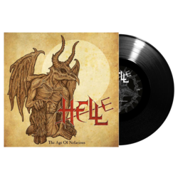 HELL - The Age Of Nefarious BLACK VINYL (Import)