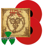 HELL - Curse and chapter FIRE RED VINYL (Import)