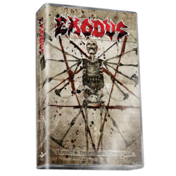 EXODUS - Exhibit B-The Human Condition(Clear Cassette Tape)