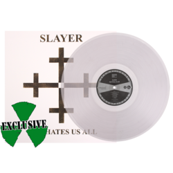 SLAYER - God Hates Us All (Ltd. Edt. Clear Vinyl)