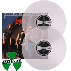 SLAYER - Decade Of Aggression (Ltd. Edt. Clear Vinyl)