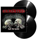 THE EXPLOITED - Fuck the system DELUXE BLACK VINYL (Import)