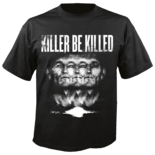 KILLER BE KILLED - Killer Be Killed (Black Shirt) S