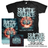 SUICIDE SILENCE - You Can't Stop Me CD/DVD Digipak + T-Shirt Bundle