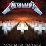 METALLICA - Master of Puppets BLACK VINYL