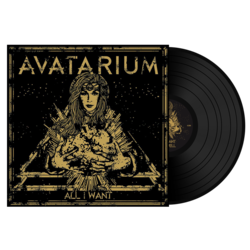 AVATARIUM - All I Want (Black Vinyl) Import