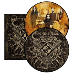 MACHINE HEAD - Bloodstone & Diamonds DOUBLE PIC DISC (IMPORT)