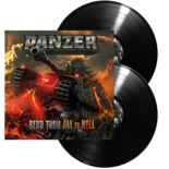 PANZER, The German - Send Them All To Hell (Black DLP)