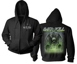 OVERKILL - White Devil Armory Zip Hoodie