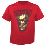 GRAVEYARD - Lights Out Red T-Shirt