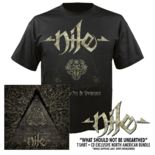 NILE - What Should Not Be Unearthed (CD + T-Shirt Bundle)