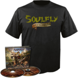 SOULFLY - Archangel CD/DVD Digipak + T-Shirt Bundle 2XL