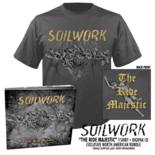 SOILWORK - The Ride Majestic Digipak + T-Shirt Bundle