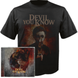 DEVIL YOU KNOW - They Bleed Red  (CD + T-Shirt Bundle) MEDIUM