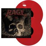 RAGE - The Devil Strikes Again RED VINYL (EURO IMPORT)