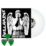 DISCHARGE - End of Days WHITE VINYL Import