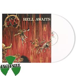 SLAYER - Hell Awaits WHITE VINYL Import
