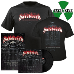 HATEBREED - The Concrete Confessional (Vinyl + T-shirt Bundle)