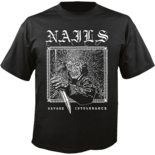 NAILS - Savage Intolerance Shirt