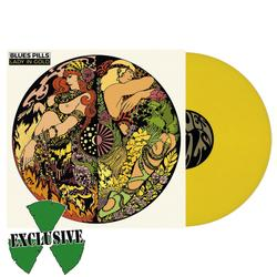 BLUES PILLS - Lady in Gold YELLOW VINYL  (EURO IMPORT)