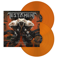 TESTAMENT Brotherhood Of The Snake (Orange Vinyl)