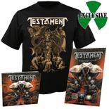 TESTAMENT - Brotherhood of the Snake (CD-Digi+TShirt Bundle)+