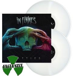 IN FLAMES Battles WHITE VINYL Import