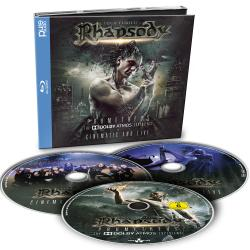 RHAPSODY, LUCA TURILLI'S - Prometheus - The Dolby Atmos Experience (BR/2CD)
