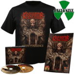 KREATOR - Gods of Violence CD Digipak + T-Shirt Bundle