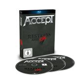 ACCEPT - Restless & Live BluRay+ 2CD