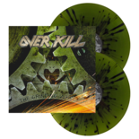 OVERKILL - The Grinding Wheel (Green w/ Black Splatter Vinyl)