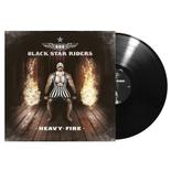 BLACK STAR RIDERS - Heavy Fire BLACK VINYL  (EURO IMPORT)
