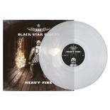 BLACK STAR RIDERS - Heavy Fire CLEAR VINYL Import
