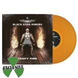 BLACK STAR RIDERS - Heavy Fire ORANGE VINYL Import
