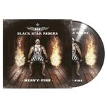 BLACK STAR RIDERS - Heavy Fire PICTURE DISC VINYL Import