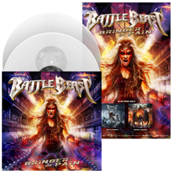 BATTLE BEAST Bringer of Pain CLEAR VINYL + Poster