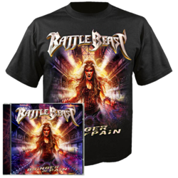 BATTLE BEAST - Bringer of Pain CD+T-Shirt Bundle