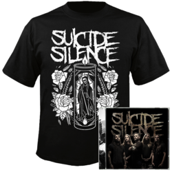 SUICIDE SILENCE - Suicide Silence CD+T-Shirt Bundle SMALL*