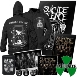 SUICIDE SILENCE - Suicide Silence DELUXE BUNDLE - Small*