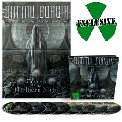 DIMMU BORGIR - Forces of the Northern Night EARBOOK DELUXE IMPORT