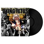 DYING FETUS - Destroy the Opposition BLACK VINYL