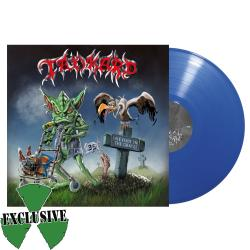 TANKARD - One Foot in the Grave BLUE VINYL Import