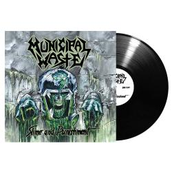 MUNICIPAL WASTE - Slime and Punishment  BLACK VINYL Import