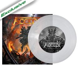 ACCEPT - The Rise of Chaos CLEAR VINYL SINGLE Import