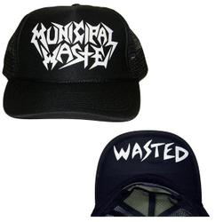 MUNICIPAL WASTE - Wasted Trucker Hat